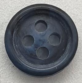 Blauw Grijze Knoopjes 9mm