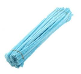 Licht Blauwe pijpenragers (10 stuks)