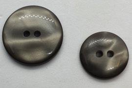 Donker Grijze Knoop 18 & 20mm