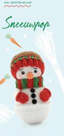 Garen Pakket Mini Kerst Tuimelaar Sneeuwpop