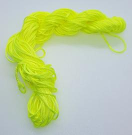 Nylon Koord 1mm - Neon Geel - 22 Meter