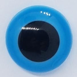 Veiligheidsogen Blauw 13,5mm (2 stuks)