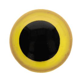Veiligheidsogen Geel 6mm (2 stuks)