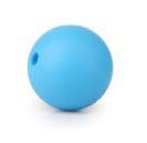 Blauwe Silicone Kralen 9mm (5 Stuks)