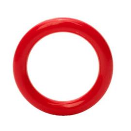 Plastic ringetjes - 40 mm - Rood