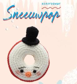Garen Pakket Kerst Donut Sneeuwpop