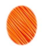 Wax koord 1mm  Donker Oranje