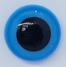 Veiligheidsogen Blauw 10mm (2 stuks)