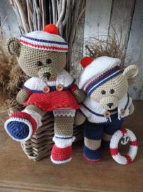 Haakpakket Funny Bears Rody & Amy