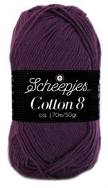 Scheepjes Cotton 8 nr 661 Paars