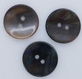 Bruine Natuurlijke Knopen 20mm
