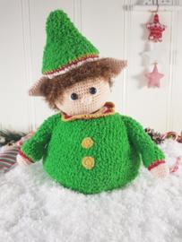 Garenpakket Pop-up Kerst-elf