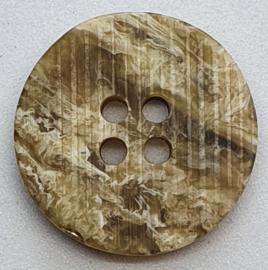 Bruine Knopen 20mm