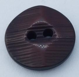 Bordeaux Knoop met Relief 18mm