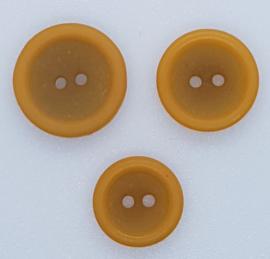 Oker Gele Knopen 18, 20 & 23 mm