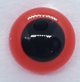 Veiligheidsogen Rood 6mm (2 stuks)