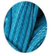 Wax koord 1mm Donker Turquoise