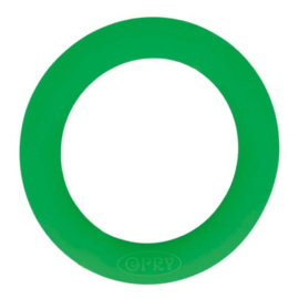 Siliconen Bijtring Rond 55mm - Groen