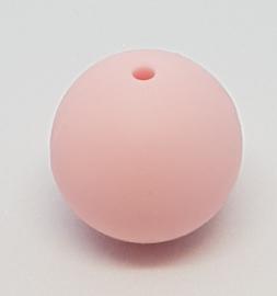 Licht Roze Silicone Kraal 20mm