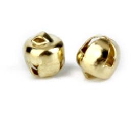 Goudkleurige  Belletjes 6mm (10 Stuks)