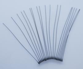 Snorharen Zwart 50 stuks (50mm)