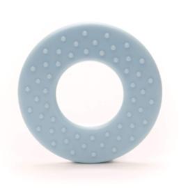 Durable Bijtring - Rond met noppen  - Light Blue 259