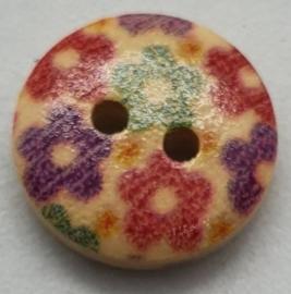 Knoop met Bloemen 15mm