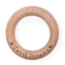 Beuken Houten ring 70mm x 10mm * Sweet Dreams*