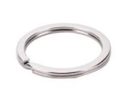 Sleutelhanger ringen 25mm Plat (5 Stuks)