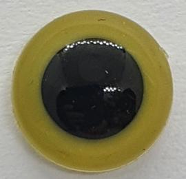 Veiligheidsogen Olijf 12mm (2 stuks)