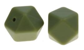 Hexagon Kraal Leger Groen 14mm