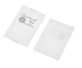 Witte Handmade with Love Labels (10 Stuks)