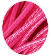 Wax koord 1mm Fuchsia