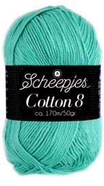 Scheepjes Cotton 8 nr 665 Jade