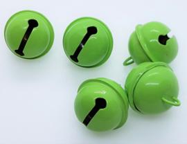 20mm Groene Belletjes (5 stuks)