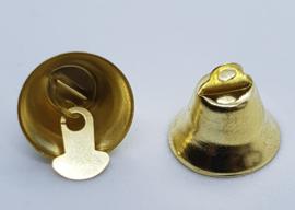 Goud Kleurige Belletjes Bel 16mm (4 stuks)