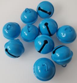 20mm Blauwe Belletjes (5 stuks)
