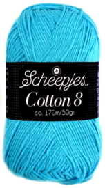 Scheepjes Cotton 8 nr 712 Turquoise
