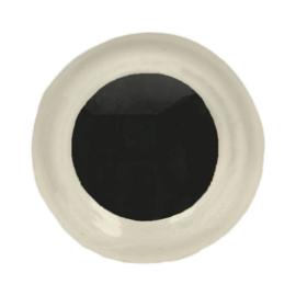 Veiligheidsogen Wit 10mm (2 stuks)
