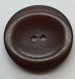 Donker Bruine Knopen 23 mm