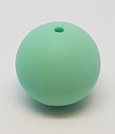 Mint Groen Silicone Kraal 20mm