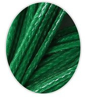 Wax koord 1mm  Groen