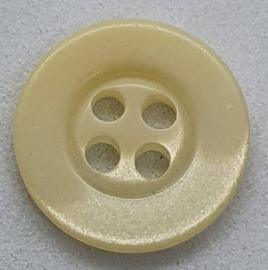 Creme Kleurige Knoop 14mm