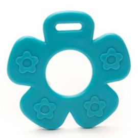 Durable Bijtring - Bloem met noppen - Blauw