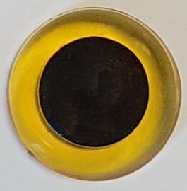 Veiligheidsogen Doorzichtig Geel 15mm (2 stuks)