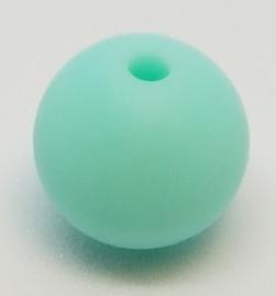 Licht Mint Groen Silicone Kraal Kralen 12mm (5 Stuks)