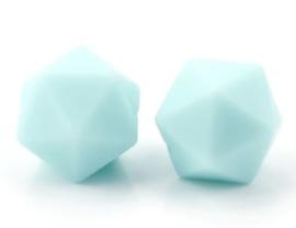 Hexagon Kraal Blauw Groen 14mm