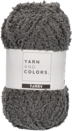 YARN AND COLORS FURRY 098 Graphite