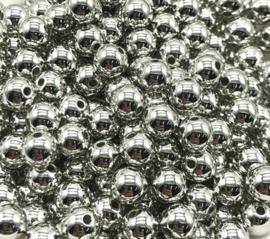 Zilverkleurige Kralen 3mm (200 stuks)