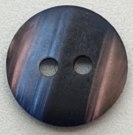 Paars Zwarte Knopen 11mm